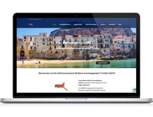 Sito web accompagnatori turistici ASAT
