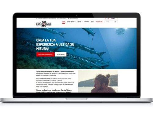 Sito web Ustica Diving Center