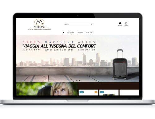 E-commerce abbigliamento e accessori Meloni