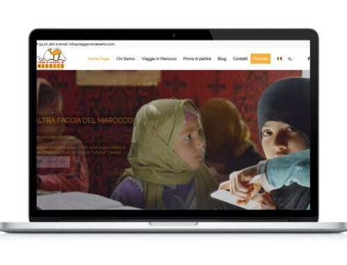 Sito web agenzia Viaggio nel Deserto
